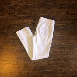 Women's Size 4 Talbots White Dress Pants